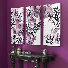 kyoto cherry blossom canvas wall art