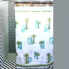 bright colored shower curtains a chic white baby blue palm tree shower curtains lime green shower