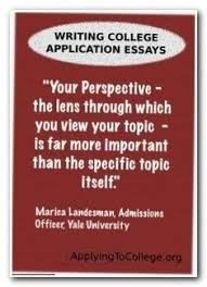 how to write college admissions essays a letter to high school  writing the college application essay advice from yale