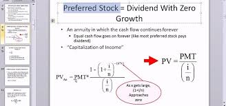 How To Calculate The Value Of A Preferred Stock In Microsoft