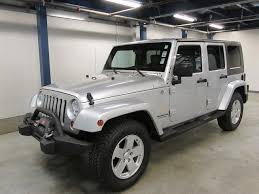 2007 jeep wrangler unlimited sahara 4x4 4door suv