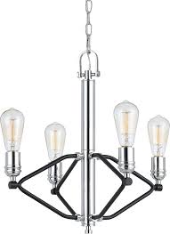 cal fx 3655 4 george contemporary chrome mini chandelier lamp loading zoom
