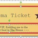Play Ticket Template Web Wiki Business Templates