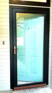 front door with screen built in security screens doors adelaide