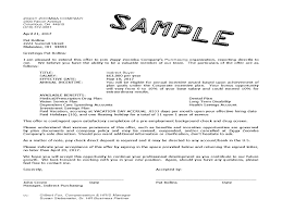 the job offer job offer letter sample