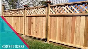Nice Wood Fence Designs 70 Nice Wood Fence Panel New Design Ideas 2017