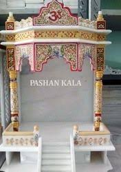 white marble carved indoor temple altars carpentry pinterest