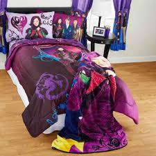 disney s descendants best of both worlds bed in bag bedding set com