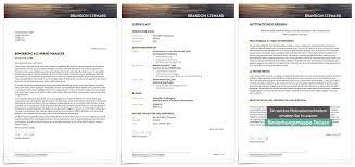 Premium Design Gro E Auswahl Von Bewerbungsdesigns