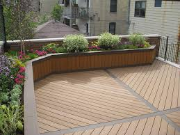 Small Picture Planter box using Trex Planting Decking and Planters