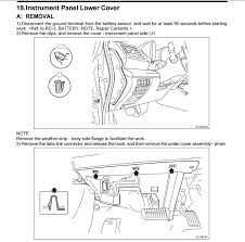 removing panel by interior fuse box subaru outback subaru Interior Fuse Box Cover Lower click image for larger version name screenshot_20 png views 90 size 151 3 Electrical Fuse Box