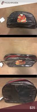 nwt macy s makeup cosmetic bag nwt macy s makeup bag large size great for travel i fit all of my makeup including three pallets to see how much it could
