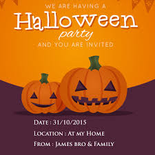 Halloween Invitations Cards Make Your Own Halloween Party Invitations Card Free Online