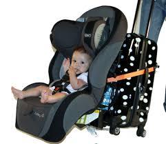 travelmate car seat luggage strap