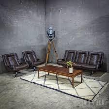 Woonkamer Set Interesting Houten Sofa Met Koffie En End Tafel