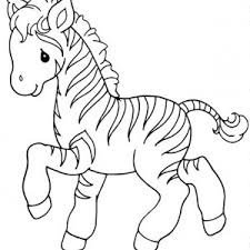 Small Picture Zebra Coloring Page Pagepng Coloring Page mosatt