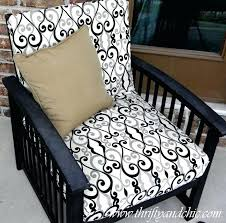 diy patio furniture cushions thrifty and chic diy projects and home decor recover outdoor chair cushions