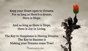 Quotes About Having Dreams Best of Dreams Quotes About Achieving Success 'Dreams Come True Quotes Life