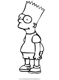 Disegno Simpson35 Personaggio Cartone Animato Da Colorare
