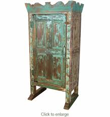 antique distressed furniture. Antique Distressed Furniture. Crown Top Painted Old Door Armoire Furniture