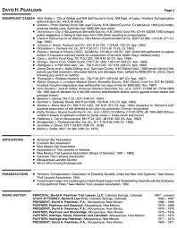 Principal Attorney Resume Examples Student Resume