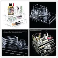 makeup conners organizers dels about hot acrylic cosmetic organizer case holder drawers jewelry storage box south