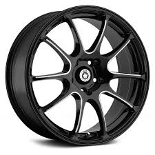 <b>KONIG</b>® <b>ILLUSION</b> Wheels - Black with Ball Cut Machined Spokes ...