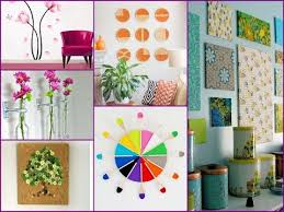 Small Picture DIY Easy Wall Decoration 50 Cool Ideas YouTube