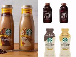 starbucks bottled frappuccino flavors. Fine Starbucks Starbucks To Launch NonDairy Bottled Frappuccinos U0026 Doubleshot Coffee  Smoothies In Frappuccino Flavors