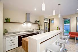 White Modern Kitchen Modern White Kitchens With Islands Exquisite Black And White