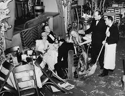 vintage everyday fun and interesting vintage photos of new employees of the diamond horseshoe cleaning up after a new years eve party in 1940 in new york keystone gamma keystone via getty images