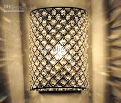 Small Picture New Modern Crystal Wall Lamp Sconces Bracket Light Wall Fitting