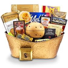 stars in the sky candle holder sympathy gift basket