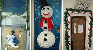 Winners Christmas Office Door Decorating
