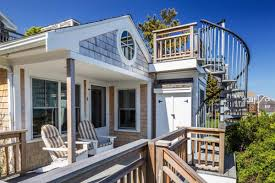 tiny houses in massachusetts. This Delightful Cottage Hugs The Massachusetts Coastline. It Includes New Wood Floors, Stone Countertops, And A Roof Deck Perfect For Soaking Up Sun. Tiny Houses In