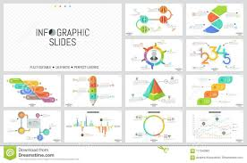Big Chart Big Set Of Minimal Infographic Design Templates Graphs