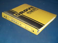 grove manlift parts grove mzi150b manlift platform lift truck parts book catalog manual book