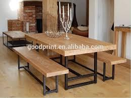reclaimed teak wood dining