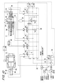 patent us6379119 hybrid electric and hydraulic actuation system patent drawing