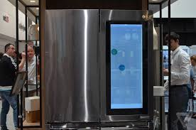 lg refrigerator instaview. lg instaview fridge hands-on photos lg refrigerator 7