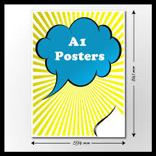 Full colour poster printing service covers any size of poster from a4 up to a0 size with fast free delivery. Cheap A1 Poster Printing Uk Free Next Day Delivery A1 Printing From 9