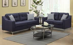 PriceBusters Special Navy Sofa & Love Under $500 1115