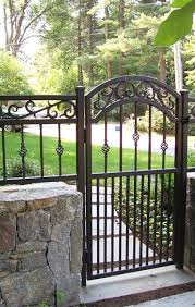 Decorative Metal Gates Design Amazing Decorative Wrought Iron Walk Gate WROUGHT IRON FENCE Pinterest