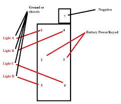 dorman 8 pin rocker switch wiring diagram dorman discover your help wiring a 7 pin on off on rocker switch