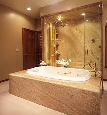 bathtub surround granite tub
