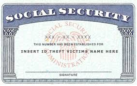 replacement social security card