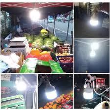 Bóng đèn Led Bulb sạc tích điện cổng USB 40/60/100W Kamivietnam 37001 - Đèn  pin