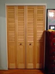 half louvered door louvered closet