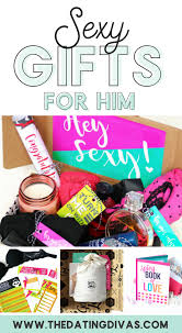 y romantic gifts for him banner