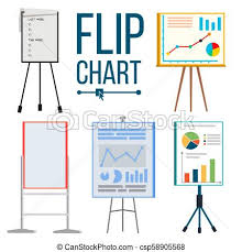 What Is Flip Chart Presentation Flip Chart Set Vector Office Whiteboard Different Types Presentation Seminar Sign Business Info Isolated Flat Illustration